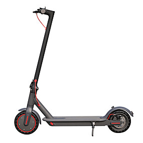 cheap Local warehouse-AOVO Pro Plus Folding Electric Scooter 350W Motor Dual Disc Brake Smartphone App E Scooter 8.5 Wheel LCD Display Max 30km/h IP65 Waterproof Skateboard BetterThan Xiaomi M365 PRO