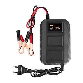 billige Bil Oplader-ny smart 12v 20a bil og motorcykel smart sea led bly-syre batterioplader førte digitale display auto dele