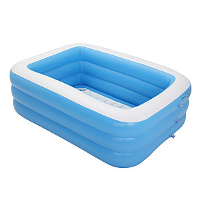 cheap Pools & Water Fun-Water Play Equipment Kiddie Pool Inflatable Pool Intex Pool Inflatable Swimming Pool Kids Pool Water Pool for Kids Plastic PVC Summer Swimming Kid's Adults Kids Adults'