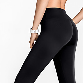 cheap Yoga & Fitness-Women's High Waist Yoga Pants Leggings Tummy Control Butt Lift Quick Dry Black Red Dark Gray Nylon Yoga Fitness Running Winter Sports Activewear Stretchy / Breathable