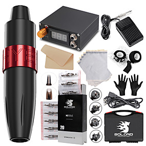 cheap Professional Tattoo Kits-Professional Tattoo Kit Tattoo Machine - 1 pcs Tattoo Machines, Professional Level / Safety / Kits Alloy 1 rotary machine liner & shader / Tattoo Pen