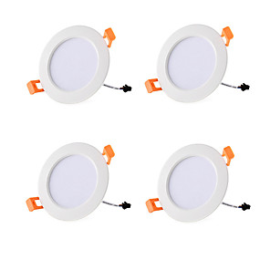 cheap LED Recessed Lights-6pcs 4pcs AC85V-265V 5W Ceiling downlight Epistar LED lamp Recessed Ceiling lamp Spot light For home illumination