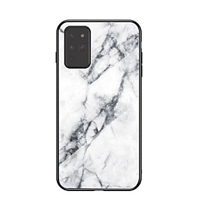 cheap Samsung Case-Case For Samsung Galaxy m21 m30s m20 a21s note20 a10 a10e a10s a20 a30 a20e a20s a50 a50s a70 a70s Pattern Back Cover Marble TPU Tempered Glass PC