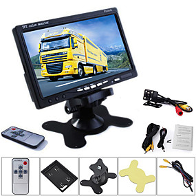 cheap Car Rear View Camera-7 inch TFT-LCD Car Reversing Monitor Night Vision LED / Video / With DVR for Car