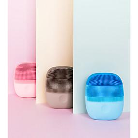 levne Skin Care-xiaomi inface mini sonic čisticí kartáče přenosné nepromokavé elektrické silikonové obličejové mycí nástroje hluboké čištění přenosné
