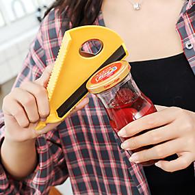 abordables herramientas de cocina novedad-organizadores de latas de abrebotellas de plástico multifuncionales para tapas abiertas ketchup