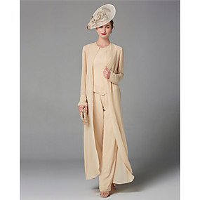 cheap New Arrivals-Long Sleeve Shrugs Chiffon Wedding / Party / Evening Women's Wrap With Solid