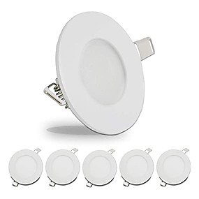 cheap LED Recessed Lights-6pcs 4pcs Led Downlights 3W Led Ceiling Light 110V Recessed Down Light Round Led Panel Light 220V LED Spot Light Indoor Lighting