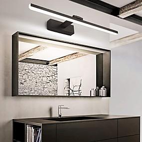 cheap Vanity Lights-LED Mirror Front Lamp Vanity Light 50cm 12W 260 Degrees Rotatable for Bedroom Bathroom Aluminum Acrylic Wall Light IP20