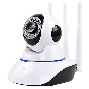 cheap Indoor IP Network Cameras-Wireless wifi webcam ip camera remote HD housekeeping artifact V380 dual antenna shaking machine