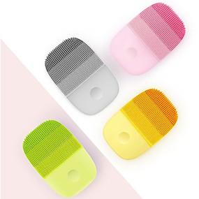 お買い得  スキンケア-xiaomi inface公式顔用クリーニングブラシフェイススキンケアツール防水シリコーン電気ソニッククレンザー
