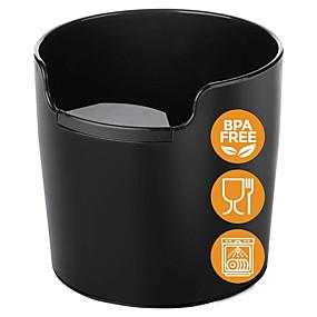 tanie Urządzenia kuchenne-odpadki kawy strącać pudełko głęboki kosz na śmieci recykling łatwe czyszczenie przechowywania odpadów młynek do kawy maszyna gospodarstwa domowego knock box bar akcesoria