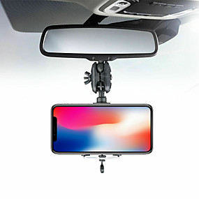 cheap Phone Mounts & Holders-Adjustable Car Rearview Mirror Mount Phone Holder GPS Stand Universal Navigate Support Automobile Data Recorder Bracket