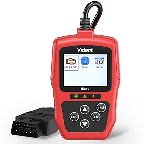 povoljno Lokalno skladište-vident ieasy300 obd2 skener poboljšani čitač automobila kod automobila automobilski svjetlosni sustav dijagnostički alat sa uređajem za ispitivanje akumulatora univerzalno vozilo može skenirati alate