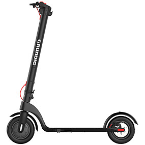 cheap Local warehouse-GRUNDIG Folding Electric Scooter 350W Motor 6.4Ah Detachable Battery  LCD Display Foldable scooter For Adult 10 Inch Inflatable Anti-skid Tires Maximum Speed 25 km/h