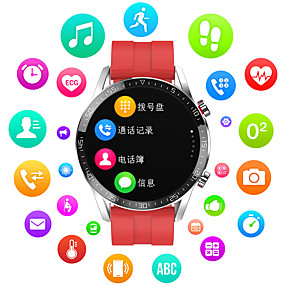 cheap Smart Watches-Smartwatch Digital Modern Style Sporty Genuine Leather 30 m Water Resistant / Waterproof Heart Rate Monitor Bluetooth Digital Casual Outdoor - Black Brown Black / Gray