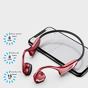 cheap Sports Headphones-LITBest H9 Bone Conduction Headphone Bluetooth5.0 Stero Sweatproof IPX5 One Touch Control HD Call For Sport