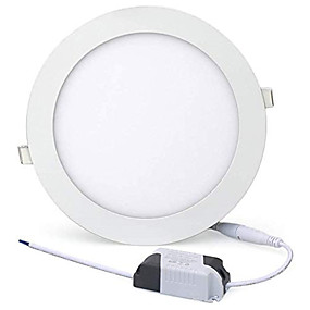 cheap LED Recessed Lights-1pcs 24W Led Pancel Light LED Downlight Recessed Round LED Ceiling Lamp AC 110V 220V Led Bulb Bedroom Kitchen Indoor LED Spot Lighting