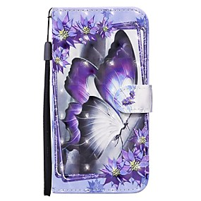 cheap Samsung Case-Case For Samsung Galaxy S20 Ultra S20 Plus S10E A51 A71 Wallet  Card Holder with Stand Full Body Cases Butterfly PU Leather A10 A20 A30 A30S A40 A50 A50S A70 A11 A01 A21S A41 A81 A91