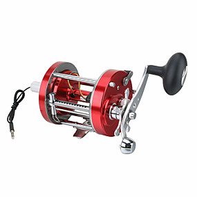 cheap Security Systems-Video Fishing Camera sea wheel Outdoor Metal Smooth High Hardness Gear Trolling Boat Drum Fishing Vessel Right Handed Ice Fishing Reel