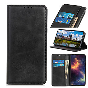 cheap Samsung Case-Case For Samsung Galaxy M10 A10 M20 M30 A40S M40 M30S M21 M40S Xcover Pro M31 Card Holder Flip Magnetic Full Body Cases  PU Leather TPU Vintage solid color stand