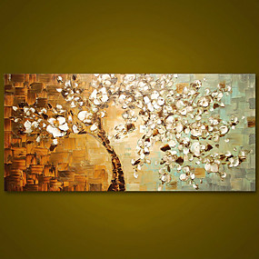 cheap Animal Paintings-Frameless Panel Hand Painted Thick Palette Knife Painting Wall Art Picture Modern Abstract Canvas Large Oil Painting For Home Rolled Without Frame