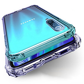 cheap Samsung Case-Samsung A71 51 90 Four-corner Anti-fall Mobile Phone Case A10 20 30 40 50 60 70 80 Half-back Transparent TPU Anti-fall M10 20 30 40 Protective Case