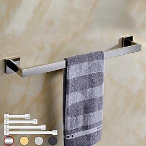 povoljno Šipke za ručnik-1 pc kupaonica kuhinjski pribor ručnik bar kuhinjske krpe vješalica sus304 metalni zidni ugradbeni 4 veličine