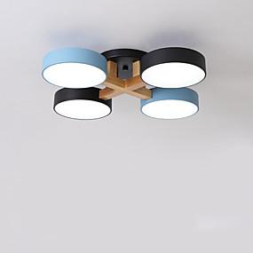 cheap Ceiling Lights & Fans-QIHengZhaoMing 4-Light 62 cm Cluster Design Flush Mount Lights Acrylic Modern 110-120V 220-240V
