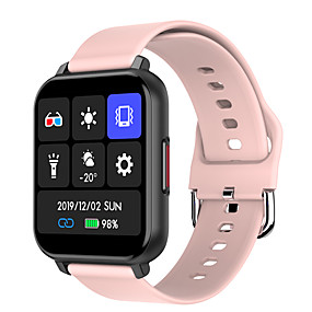 cheap Smart Watches-696 T82 Unisex Smartwatch Smart Wristbands Bluetooth Heart Rate Monitor Blood Pressure Measurement Sports Information Message Control Pedometer Activity Tracker Sleep Tracker Sedentary Reminder Find