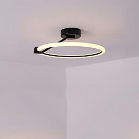 cheap Ceiling Lights & Fans-CONTRACTED LED® 40 cm Geometric Shapes Flush Mount Lights Aluminum Painted Finishes LED Modern 110-120V 220-240V