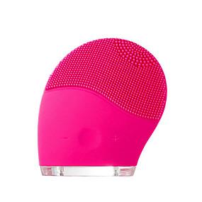 お買い得  スキンケア-シリコーンの顔のクレンザーとマッサージブラシ、顔の洗浄と磨きのための新しい超音波防水充電式洗顔システム