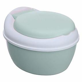 voordelige Babyverzorging en moederschapsbenodigdheden-3-in-1 potje babyzitje toilettrainer en opstapje roze en blauwe zitting met hoes PP (blauw)
