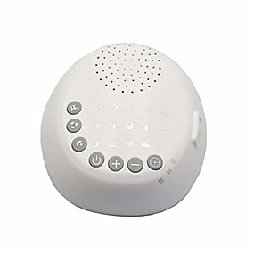 cheap Household Appliances-sound machine flat noise therapy easy conditioner relax sleeping helper white