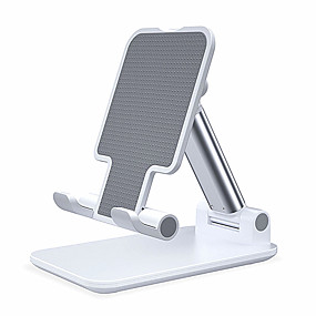 cheap Phone Mounts & Holders-Desk Mount Stand Holder Adjustable Stand Adjustable Silicone / Metal Holder