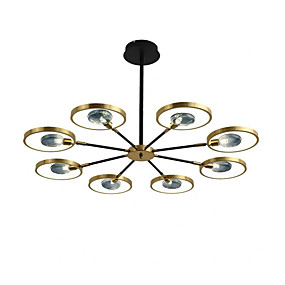 رخيصةأون مراوح ومصابيح سقف-انارة 106 سم 8 مصابيح معدنية حديثة 110-120 فولت 220-240 فولت