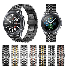 cheap Smartwatch Bands-20mm 22mm Stainless Steel Watchband for For Samsung Galaxy Watch 3 41 45mm 42mm 46mm Gear S3 S2 Classic Bracelet strap for Active 2 40mm 44mm