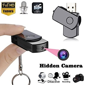cheap CCTV Cameras-U Disk Recorder Professional Hd Micro Keychain Mini Student Conference Record