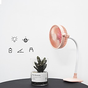 cheap Travel Comfort-Air Cooling Fan Handheld Fan Portable Cute Low Noise Multifunction Cool and Refreshing Wind Speed Regulation Lightweight ABS Chargeable For Travel Gift Daily