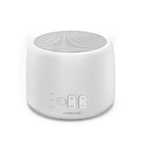 cheap Household Appliances-white noise machine,  high fidelity sound machine for sleeping, baby, office privacy - with 24 unique fan & white noise sounds, sleep timer, 2 usb charge port