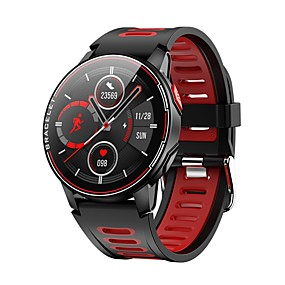 cheap Smart Watches-L6 Unisex Smartwatch Bluetooth Touch Screen Heart Rate Monitor Blood Pressure Measurement Calories Burned Health Care Stopwatch Pedometer Call Reminder Sleep Tracker Sedentary Reminder