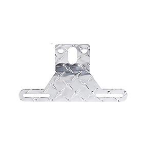billige Dekorasjon til frontgrill-lpf018-s czc auto aluminiums lisensplate for lette plate brakett