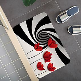 billige Matter og tepper-kreative 3d-printing flerfarget gulvfelt gangen teppe og tepper for soverom stue teppe kjøkken bad antiskli gulvmatter