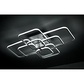 cheap Dimmable Ceiling Lights-LED® 4-Light 42 cm Flush Mount Lights Aluminum Acrylic Island / Geometrical Painted Finishes LED / Modern 110-120V / 220-240V