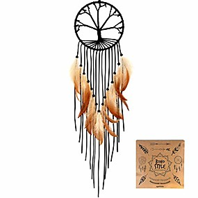 "cheap Dreamcatcher-dream catcher tree of life tassels wall hanging decoration dream catchers for bedroom dia 5.9"" (no.025)"