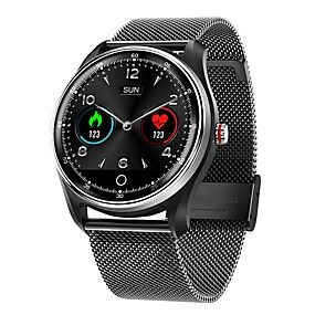 cheap Smart Watches-MX9 Men's Smartwatch Bluetooth Heart Rate Monitor Blood Pressure Measurement Calories Burned Long Standby Health Care ECG+PPG Stopwatch Pedometer Call Reminder Activity Tracker