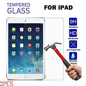 cheap iPhone Screen Protectors-2PCS For iPad2 3 4 Pro9.7 11 12.9 Mini1 2 3 4 5 Air2 HD Transparent Anti-drop Anti-fingerprint Anti-scratch Tempered Glass Tablet Screen Protector