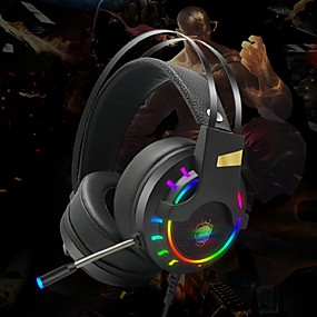 cheap Gaming Headsets-LITBest HG8 Gaming Headset USB 3.5mm Headphone 3.5mm Microphone Stereo with Microphone with Volume Control HIFI InLine Control for Gaming