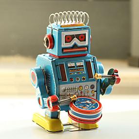 halpa Robotit, Monsters & Space-lelut-Robotti Vedettävä lelu Ompelukone Robotti Metallinen Rauta Anime 1 pcs Lasten Poikien Tyttöjen Lelut Lahja