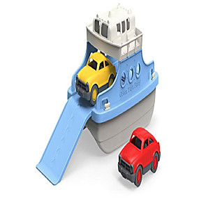 cheap Pools & Water Fun-ferry boat with mini cars bathtub toy, blue/white (renewed)